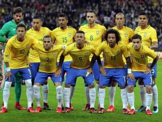 Koszulka Brazylia MŚ 2018