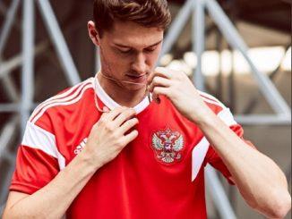 Koszulka Rosja MŚ 2018