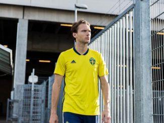 Koszulka Szwecja MŚ 2018